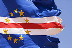 The Cape Verde flag
