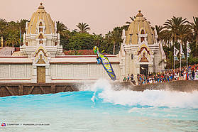 Martin in the zone at Siam Park