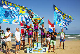 Eigth world title for Sarah Quita