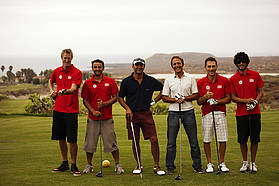 PWA crew hit the Amarilla  Tenerife golf course