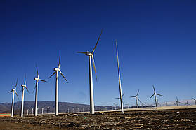 The wind turbines of Pozo