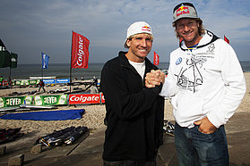 Robby Naish and Bjorn Dunkerbeck
