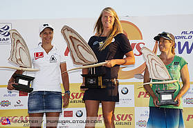 Delphine Cousin Women's slalom world champion