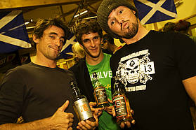 The French check out Scottish Whiskey