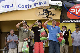 Men's winners Costa Brava 2008