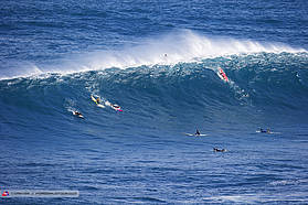 Morning session at Jaws