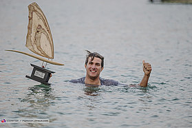 Pierre Mortefon 2019 PWA slalom world champion