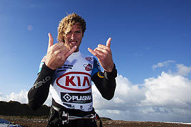Thumbs up for Martin Ten Hoeve