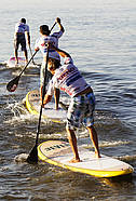 Frantic SUP racing
