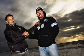It's official...Bjorn goes Starboard...Bjorn and Svein Rasmussen