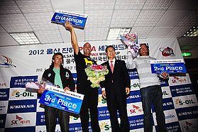Men's top three Korea 2012