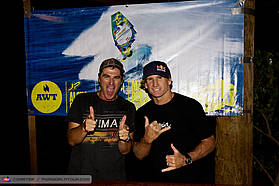 John Carter and Robby Naish