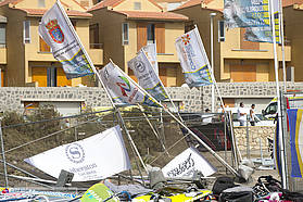 Tenerife lashed by high winds