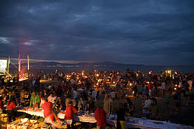 Costa Brava beach party