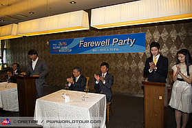 Speeches at the Ulsan lunch