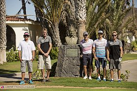 The annual PWA game at the Amarilla golf course