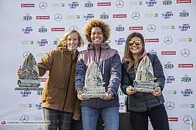 Womens waves winners