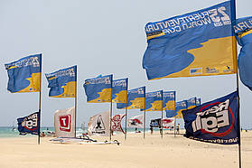 The Fuerteventura flags