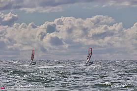 Slalom training here in Sylt