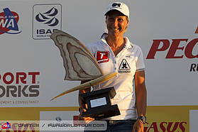 Valerie Arrighetti second in the world 2013