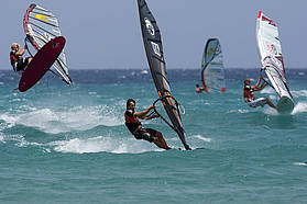 Windy conditions!