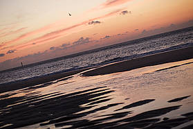 Sylt at sunset