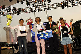 Women's winners Korea 2009