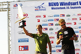 Peiter Bijl takes the sail constructors trophy
