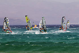 High wind slalom here in Fuerteventura