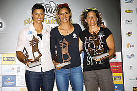 Women's top three Tenerife 2012