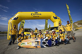 Event sponsors Corona bring out the toys