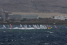 Full fleet race start