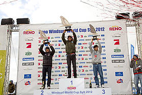 Men's wave overall top three