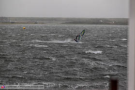 Stormy conditions here at Dam 7