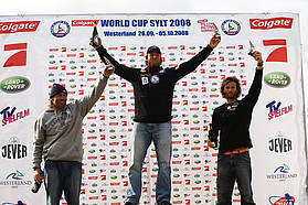 Sylt slalom top three