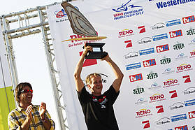 Svein Rasmussen collects the PWA constructors trophy