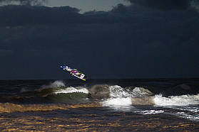 Fernandez night session action
