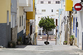 The streets of Pozo