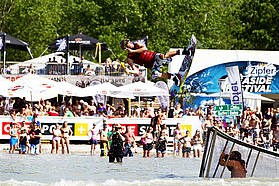 Wake board demo