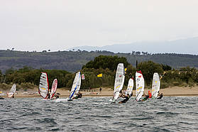 Heat one race four