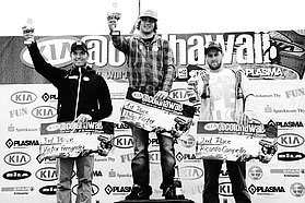 All the winners at the Cold Hawaii 2011