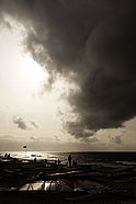 Storm clouds over Sylt