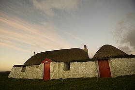 Traditional Tiree crofting cottage