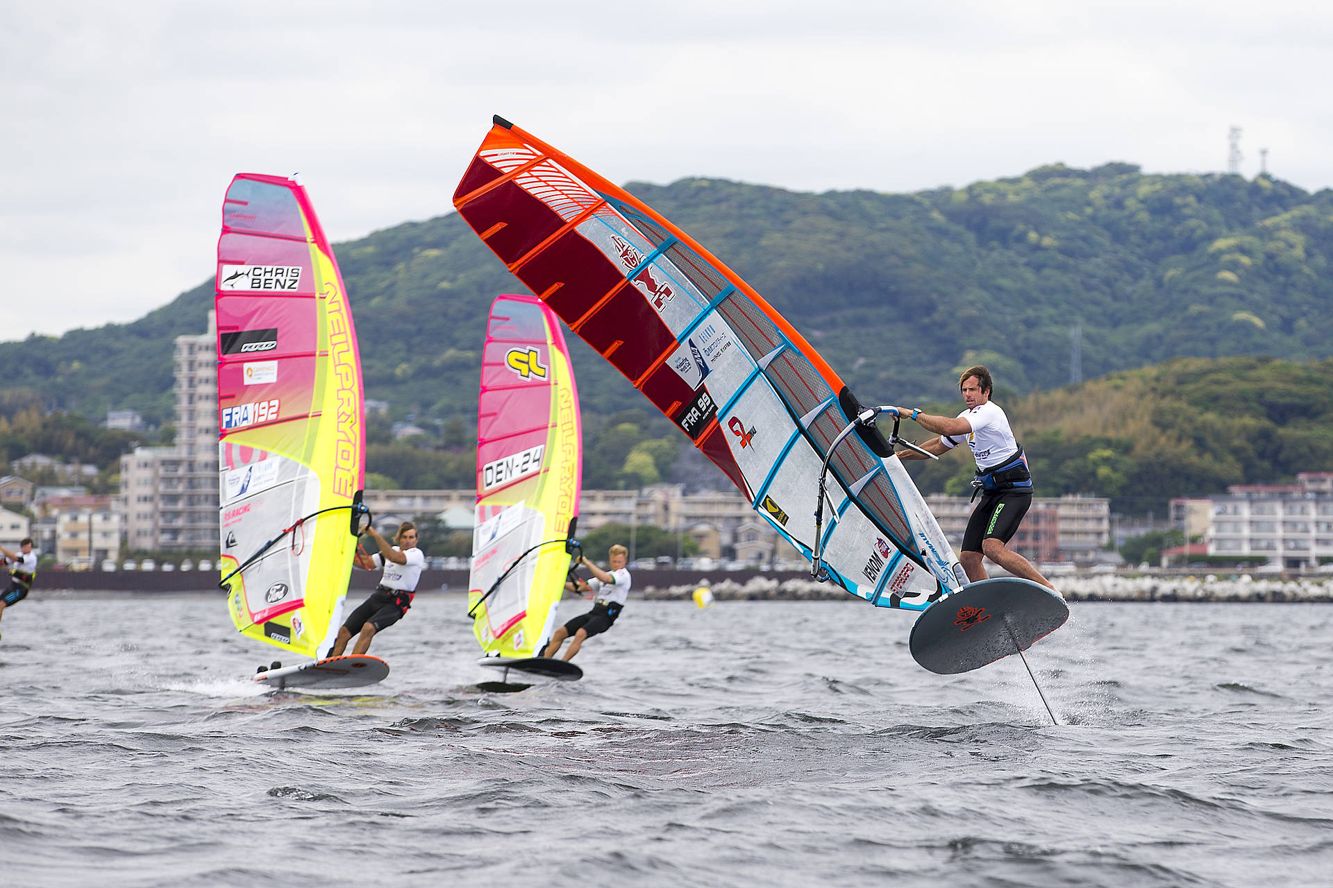 PWA WORLD WINDSURFING TOUR: Foiling