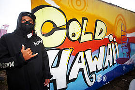 Koster dressed for cold Hawaii