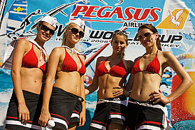 Hanging out at the Pegasus PWA world cup