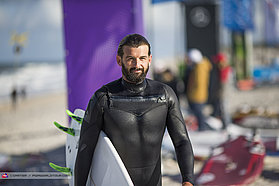 Surf session for Williams