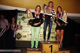 PWA Women s top three overall