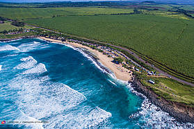 Hookipa from above