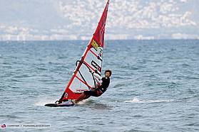 Cyril Moussilmani takes second